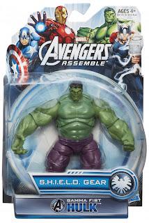 "Hasbro Avengers Assemble 3.75"" Hulk Figure"