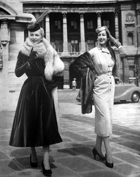 1950s Winter Glam #vintage #winter #1950s #fashion