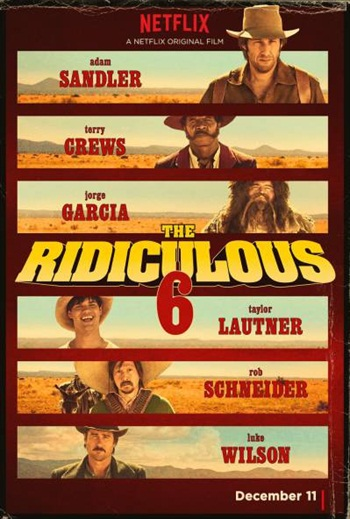 The Ridiculous 6 (2015) English WEBRip 700MB