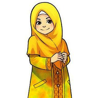Wallpaper Gambar Kartun Anak Shaleha
