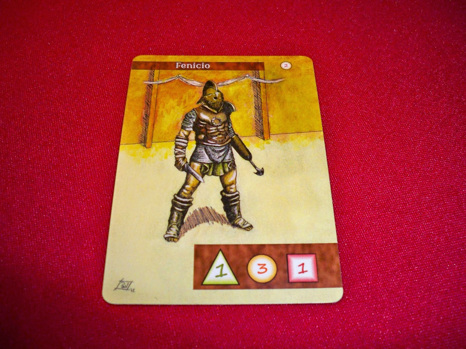 cartas de gladiadores