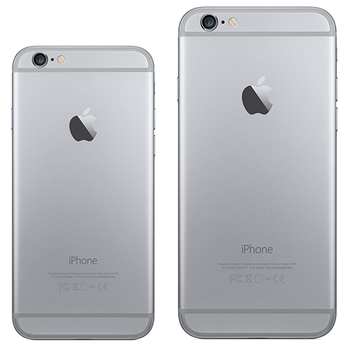 iPhone 6 and iPhone 6 Plus - Back