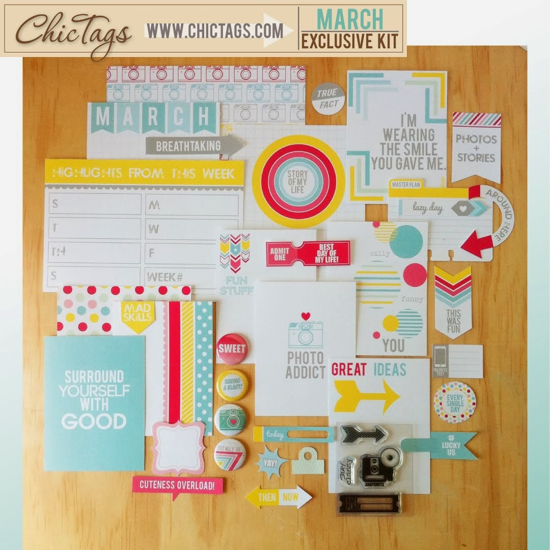 Chic Tags Kit On Sale