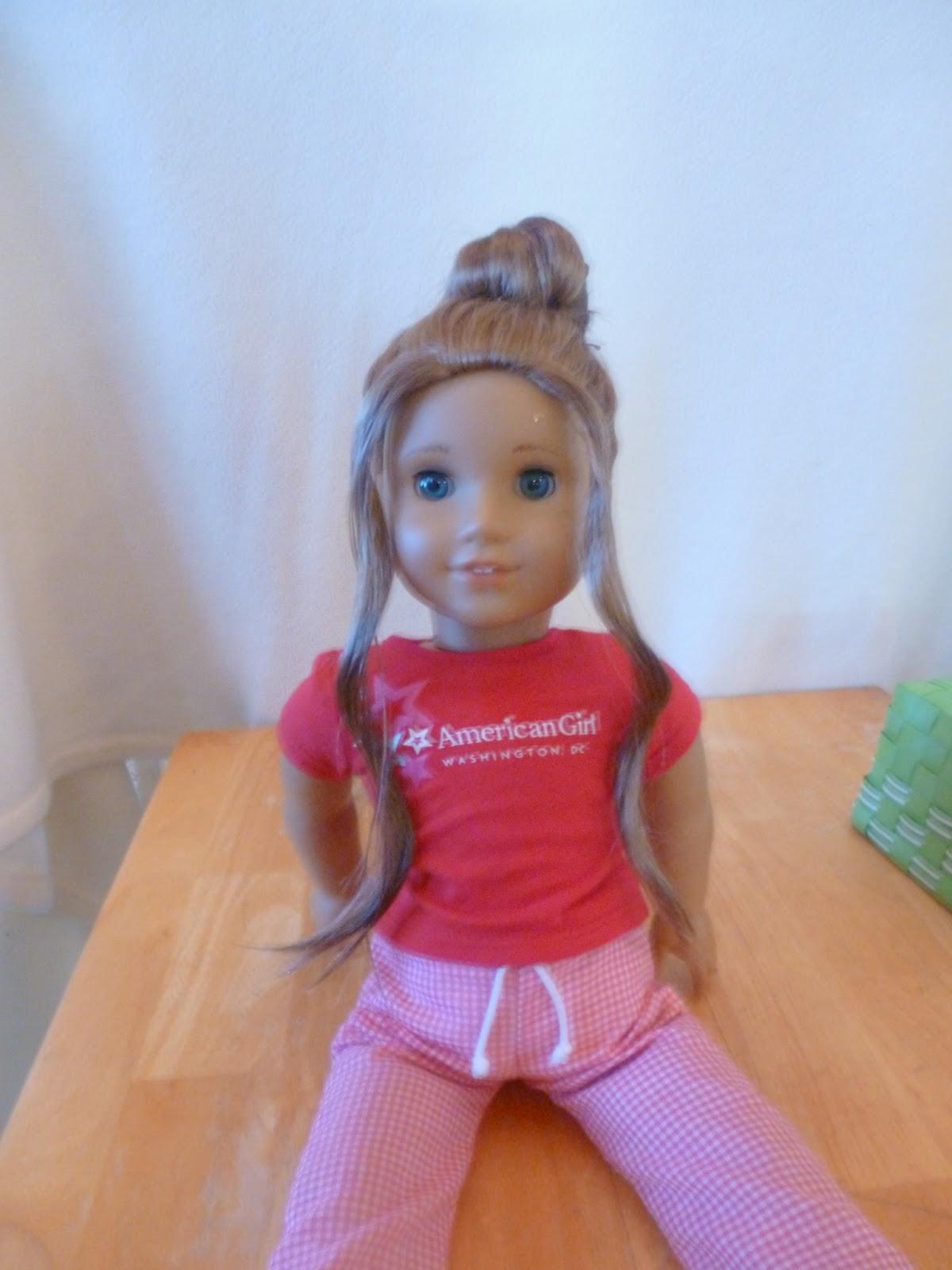 american girl doll hair. Black Bedroom Furniture Sets. Home Design Ideas