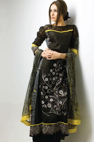Mahiymaan Designer Series by Al Zohaib Textile cleavage