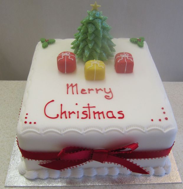 Christmas cake decorations christmas ideas for Decoration ideas for christmas cake