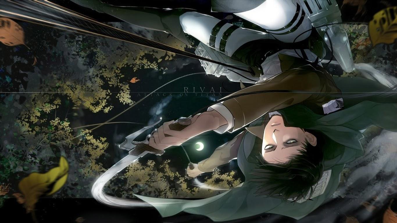 captain levi attack on titan shingeki no kyojin anime hd wallpaper ...