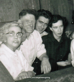 Ray and Emily Belair with his parents Fred and Julie Belair