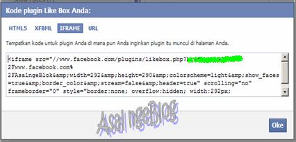 Kode Script Asal ngeBlog