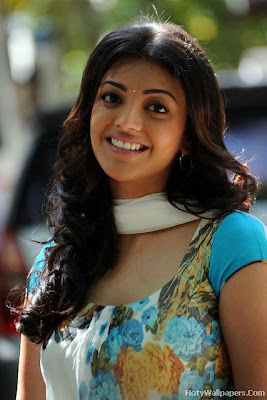 Spicy Girl Kajal Agarwal Wallpaper