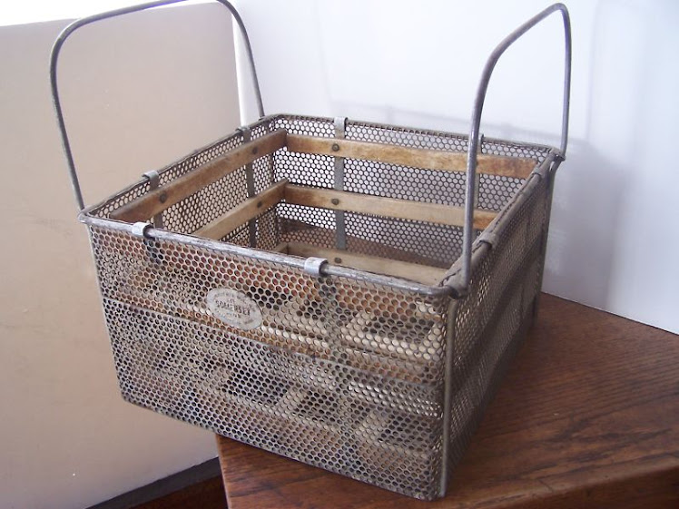 Industrial Vintage Basket