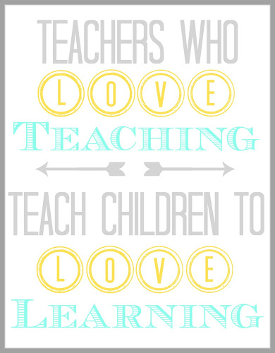 Printable Teacher  Quote