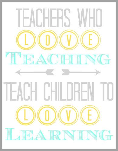 Printable Teacher  Quote