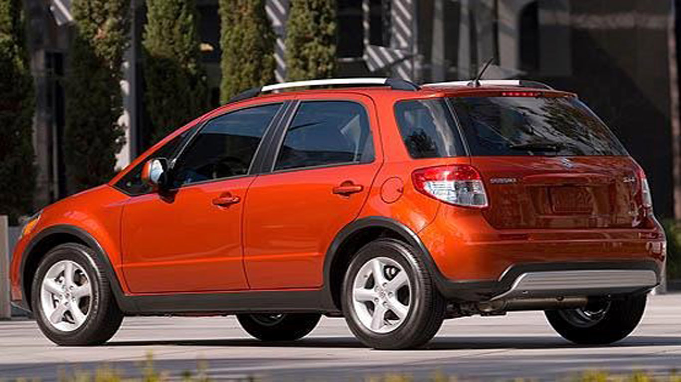 suzuki sx4 crossover 2012 price technical images and list of rivals dream fantasy cars. Black Bedroom Furniture Sets. Home Design Ideas