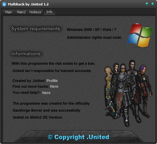 Metin2 Multihack United 1.2 Calısan Metin2 Ve Pvpserver Oyun Hile botu indir – Download