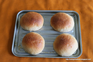 eggless dinner role bun