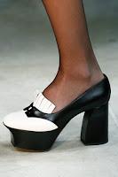 Високи обувки с платформа и дебел ток на Bottega Veneta