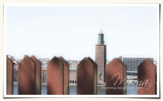 Stockholm, kärlekens stig, Stadshuset