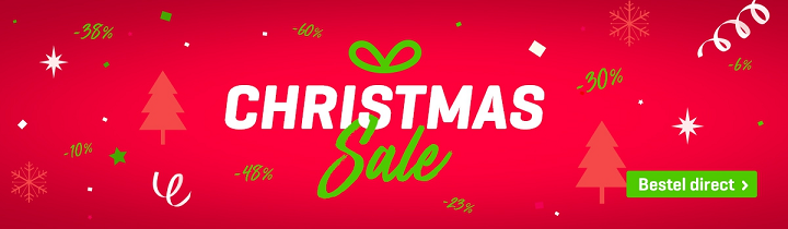 Ho, ho, ho! Daar is de christmas sale weer! Sla je slag! :D
