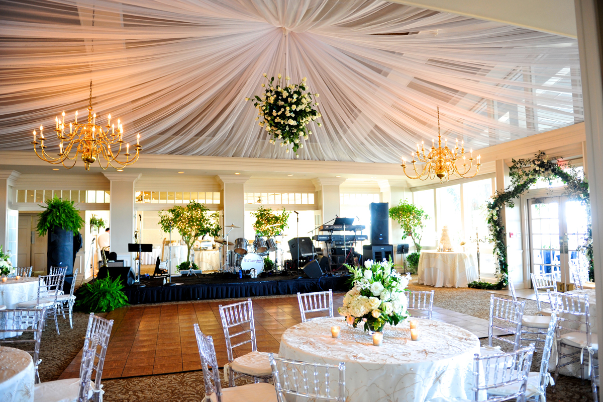 The Afternoon Turned Into Evening As Guests Bridal Party And Stephanie Jeff Arrived At Savannah Yacht Club For Their Reception Celebration