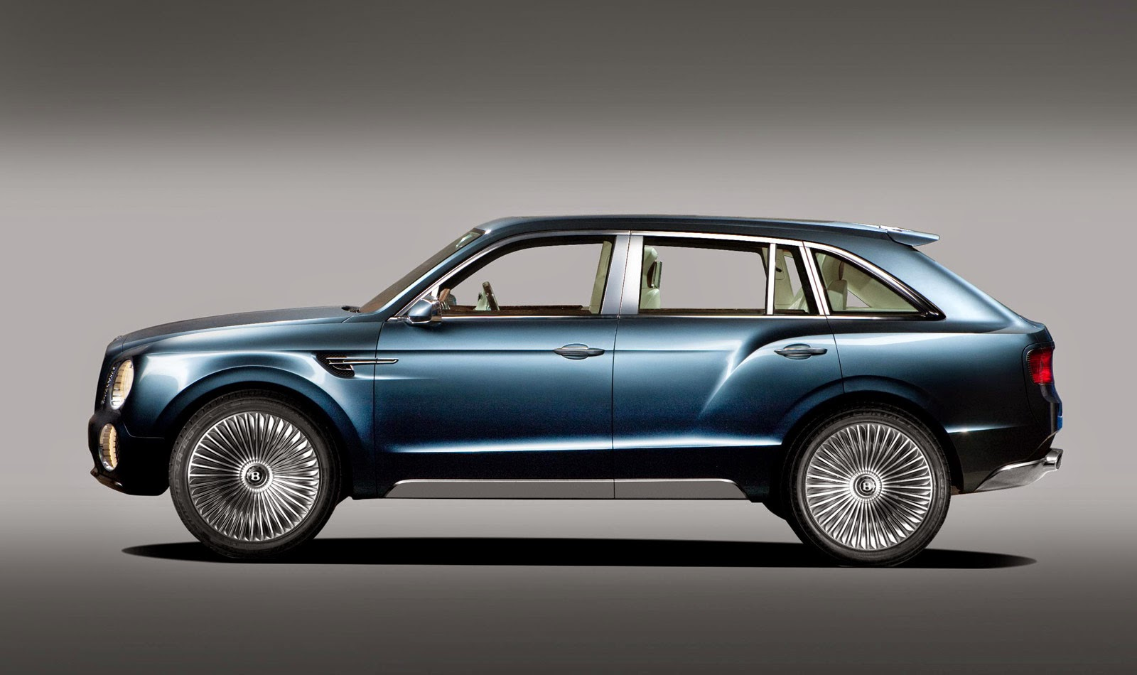 smaller bentley suv to follow full size model carscoops