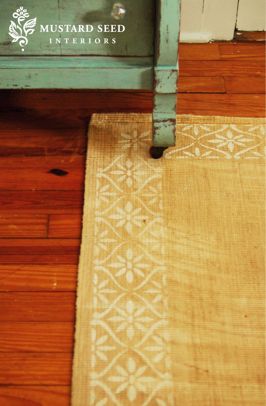 I Have A Lot Of Wood Floors In My House And Rugs Can Be Really Expensiveespecially Nice Ones Suppose Could Slap Down Piece Berber But Thats Not