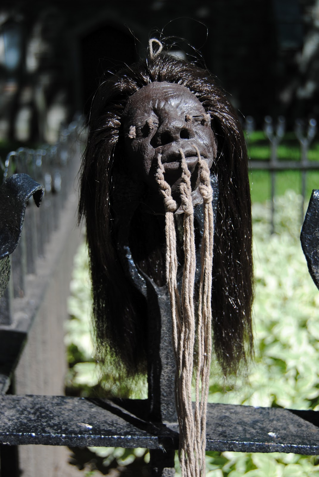 propnomicon making a shrunken head