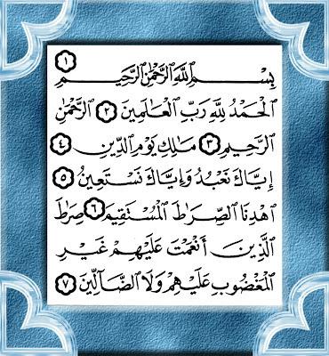 Ulasan Surah Al-Fatihah