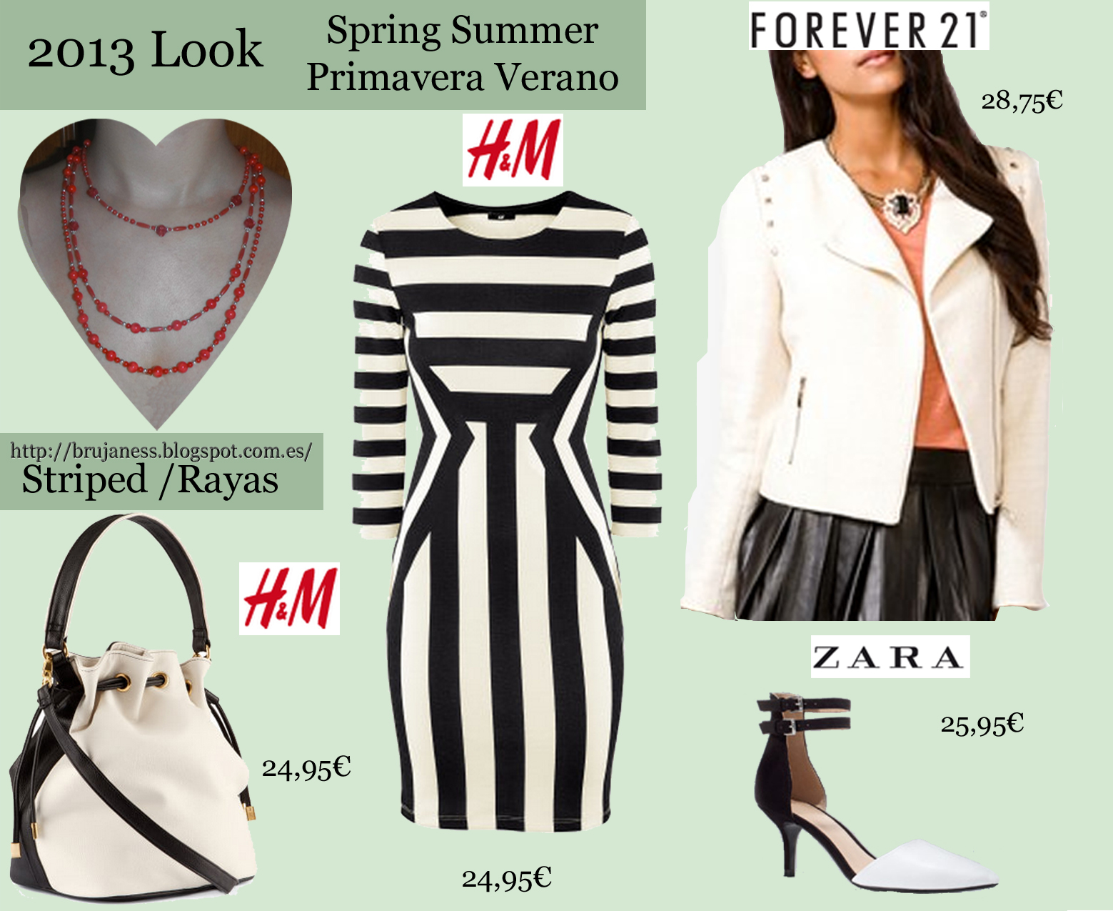 Brujaness fashion stripes rayas prints estampados s s - Rayas horizontales ...