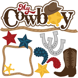My Cowboy cut file set by Miss Kate Cuttables