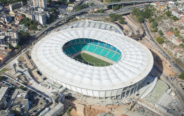 Cobertura da Arena Fonte Nova