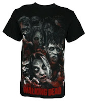 The Walking Dead Zombie Horde Men's T-Shirt