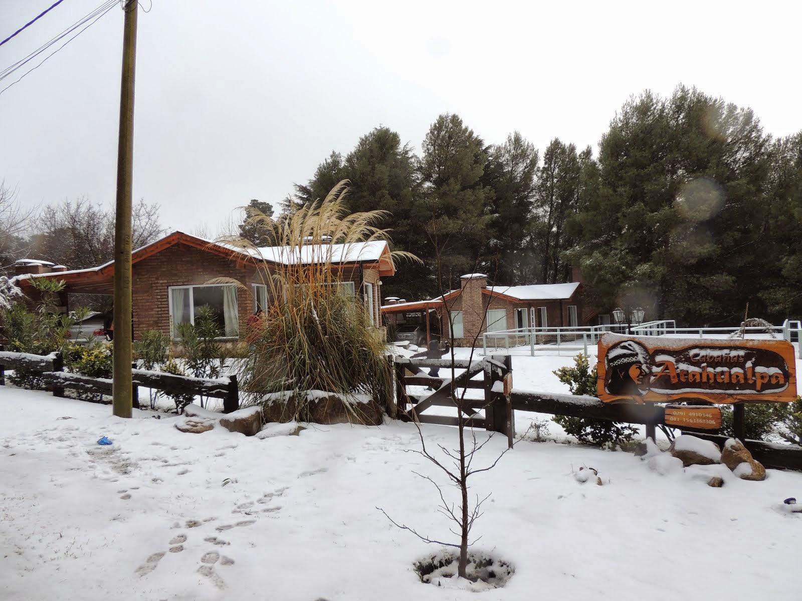 El complejo en invierno