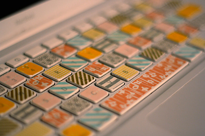 What To Do With Washi Tape New With DIY Washi Tape Keyboard Image