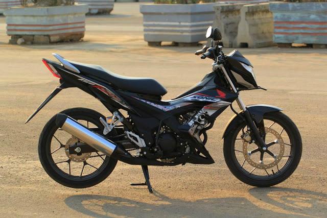 Mantap . . tenaga Suzuki Satria F150 Injeksi naik 20% dari Satria F150 Karburator