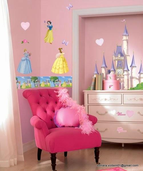 Construindo minha casa clean quartos de princesas veja for Programa para decorar habitaciones online