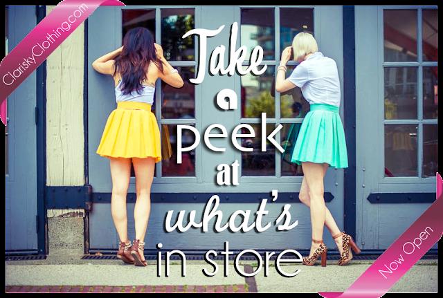 clarisky online shop opening