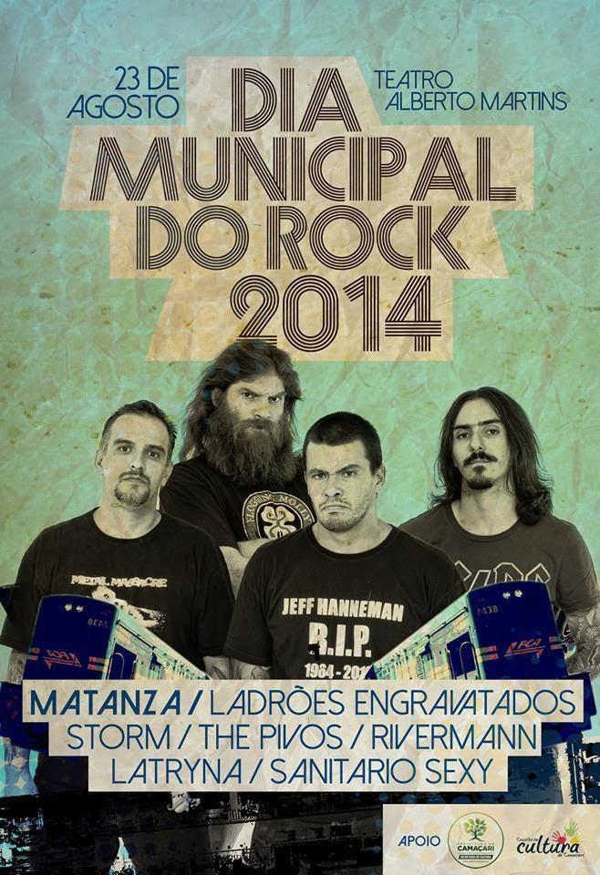 Camaçari: Confira as atrações do Dia Mundial do Rock
