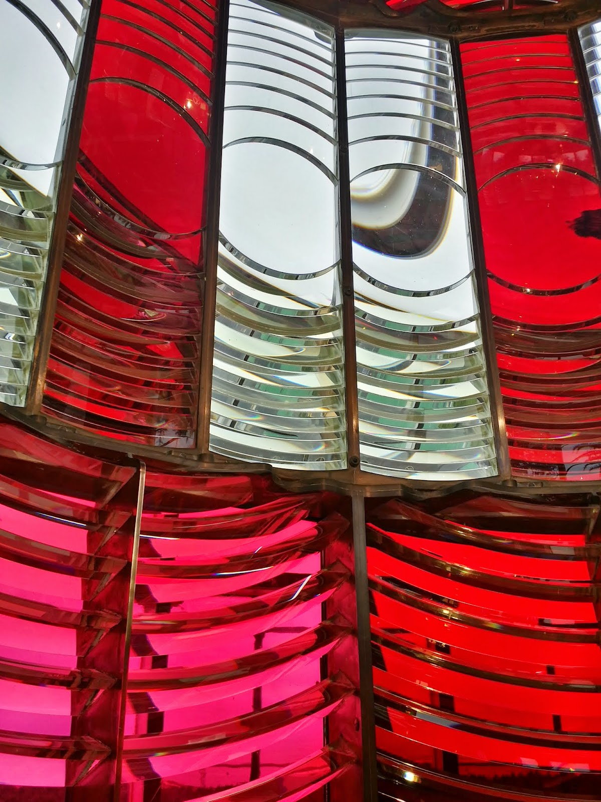 Umpqua River Lighthouse lens