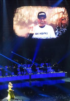 Celine Dion sings heart breaking tribute to Cancer stricken husband Rene