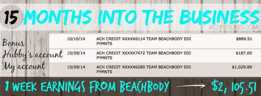 star diamond team beachbody coach weekly earnings