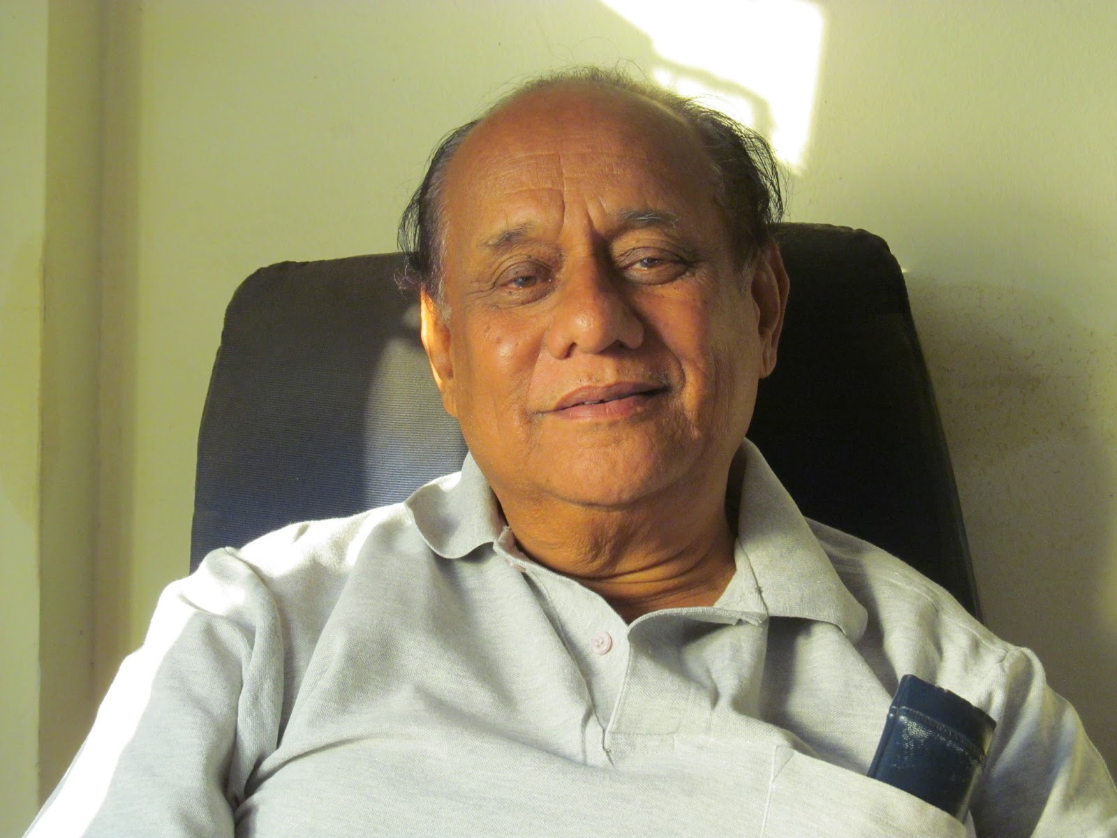 Chandrakant Pathak - Photo taken on 7 Mar 2013 5:45 pm by Sanjay Kelkar - IMG_1180