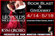 LEOPOLD'S WICKED EMBRACE Book Blast & Giveaway