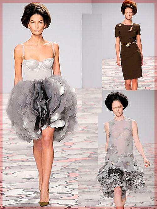Psynopsis Giles Dresses Collage