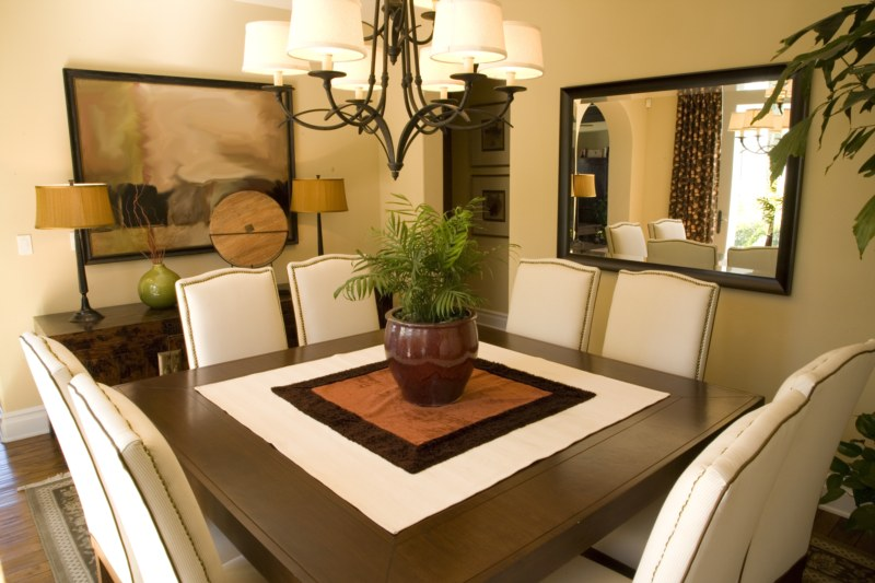 Willpower feng shui for Decoracion de comedor con espejos
