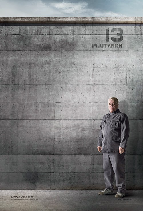 Plutarch Mockingjay Poster