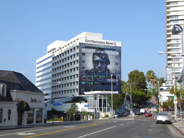 Giant Beasts of No Nation movie billboard