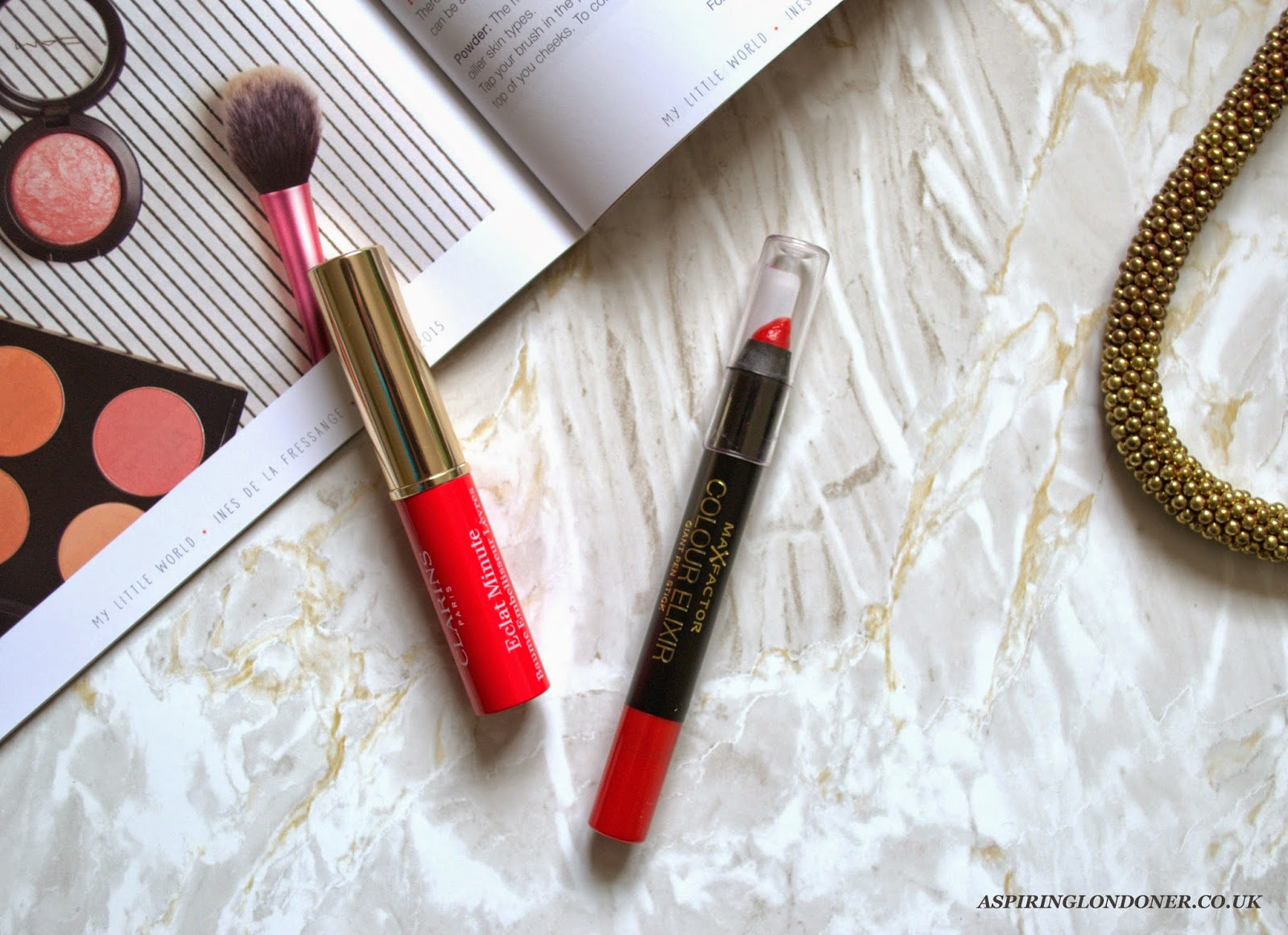 Clarins Instant Light Lip Balm Perfector Dupe Review & Swatch - Aspiring Londoner
