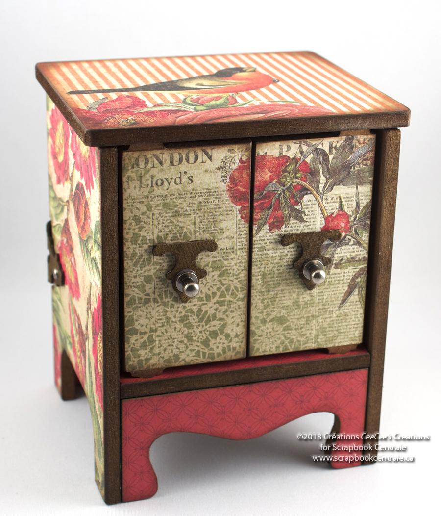 scrapbook centrale mardi machin truc petite armoire de. Black Bedroom Furniture Sets. Home Design Ideas
