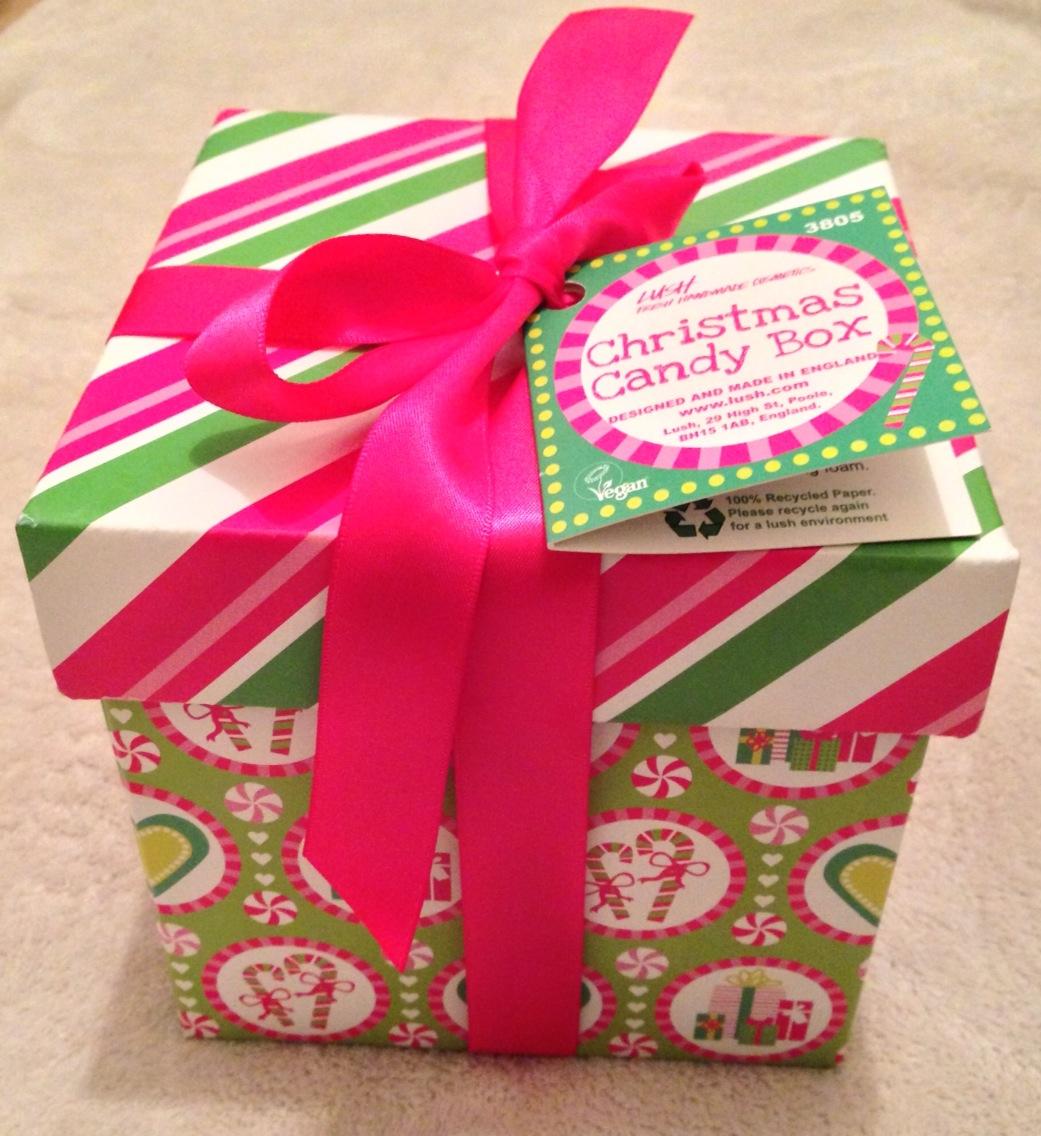 Lush christmas candy box i am fabulicious